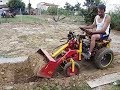 Mini Home-made Agricultural and Construction Equipment !