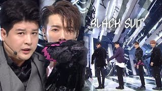 《Comeback Special》 SUPER JUNIOR(슈퍼주니어) - Black Suit @인기가요 Inkigayo 20171112