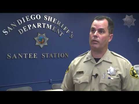 Overdose Antidote Interviews & Simulated Demonstration - San Diego County Sheriff's Department