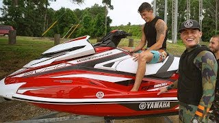 I Bought My Best Friend His Dream Jet Ski 2018 Yamaha Gp1800 Emotional