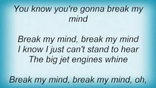 Watch Roy Orbison Break My Mind video