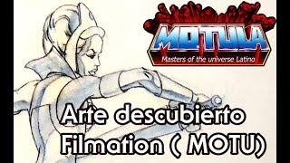 (Exclusiva ) Arte de He-Man Filmation nunca antes visto descubierto !
