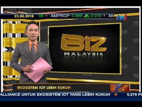 BIZ MALAYSIA - EKOSISTEM IOT LEBIH KUKUH [ 23 JUN 2016]