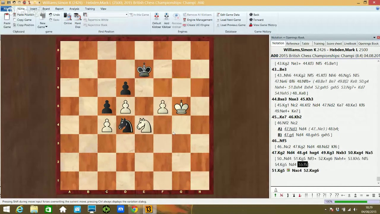 Live Commentary Round 8 Part 2
