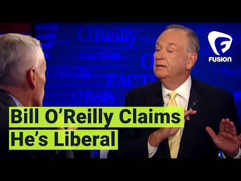 Bill O'Reilly Tells Jorge Ramos He's a Liberal, Too