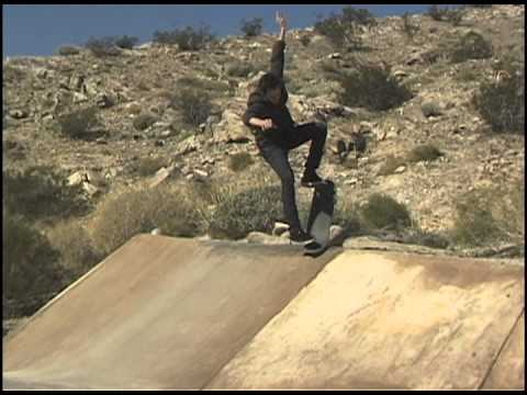 SKATEBOARDING - ANDREW CANNON & CHARLIE THOMAS - PALM SPRINGS RED DITCH