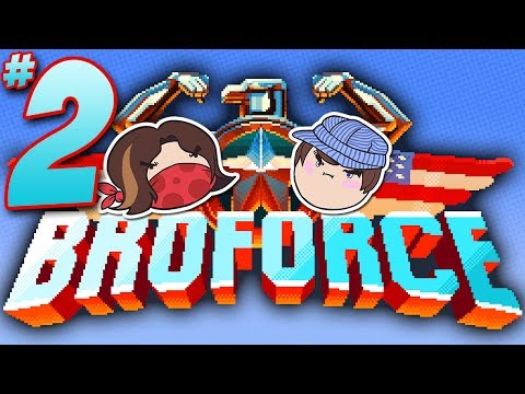 Broforce: Rescue Me! - PART 2 - Steam Train