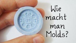 Wie macht man Silikonformen/Molds | Anielas Fimo