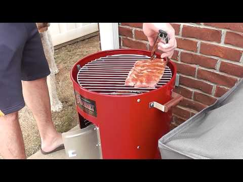 Brinkmann Electric Smoker Spare Ribs Smoking Tutorial