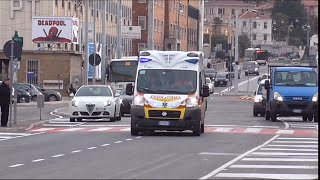(Happy Easter) 2x Ambulanza PA AVIS Montemarciano in Emergenza / 2x Italian Ambulance in Emergency