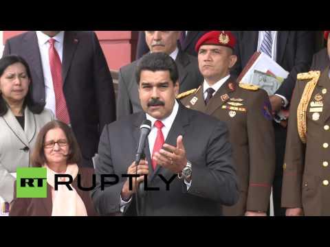 Venezuela: Maduro announces plans to stabilise oil to $100 a barrel