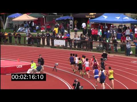 Eugene Hamilton III, Stanford Invitational 2013, Boys Mile, Heat 1