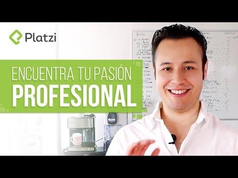Encuentra tu pasión profesional