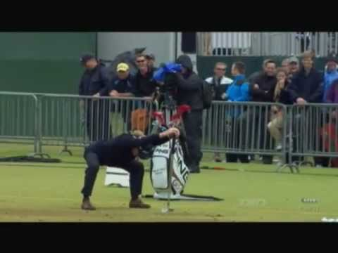 Miguel Angel Jimenez - Phil Mickelson Warm Up