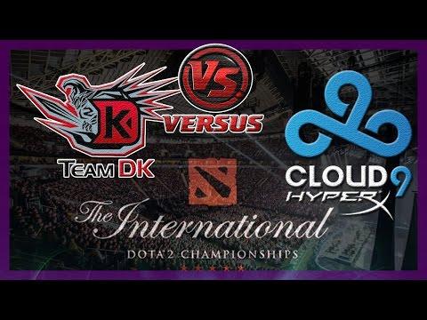 Самая Быстрая DK vs C9 International 2014 Dota 2 #ti4 RUS