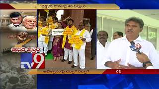 TDP MPs on their No Confidence Motion strategy - AP Special Status