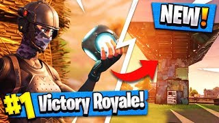 *NEW* PORT A FORT Grenade Gameplay   BIG Win! ( Fortnite Update Item )