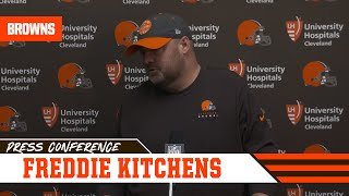 Freddie Kitchens Explains Heated Convo w/ Jarvis Landry | Cleveland Browns