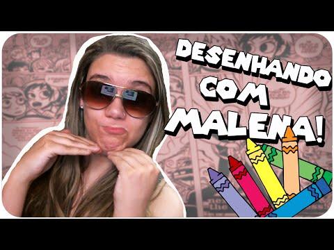 Desenhando Com Malena! video