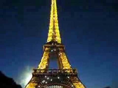 Bastille day fireworks on the Eiffel Tower Video
