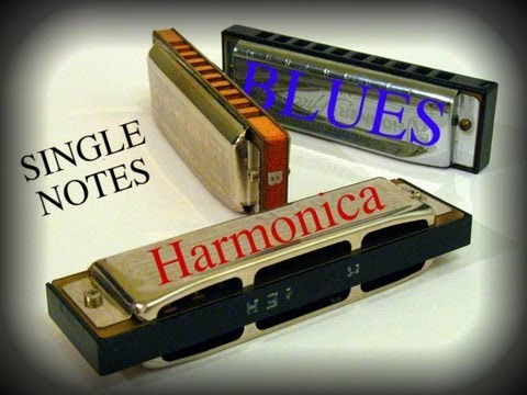 Learn Harmonica in 3 Minutes: Single Notes Part 1