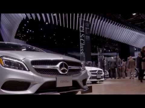 Mercedes-Benz at the North American International Auto Show 2015