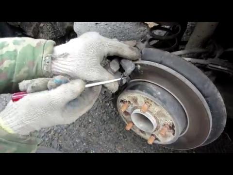 Замена передних колодок на форд фьюжн 16 своими руками 45