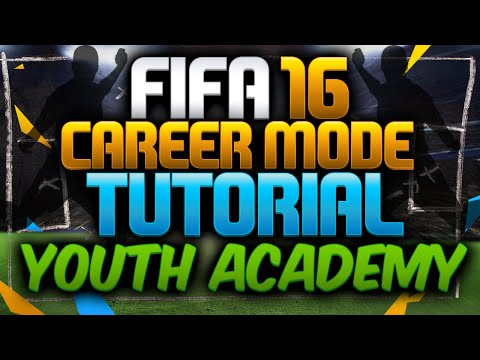 FIFA 16 Career Mode TUTORIAL - 90+ YOUTH ACADEMY PLAYERS  - HOW TO GROW THEM - NEW FEATURES!