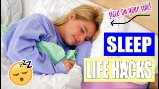 Sleep Life hacks: How to fall asleep FAST!