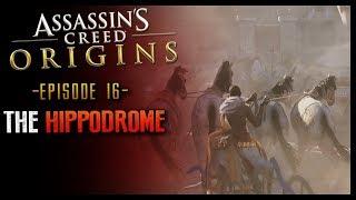 Assassins Creed Origins Walkthrough Part 16 Hippodrome RACING