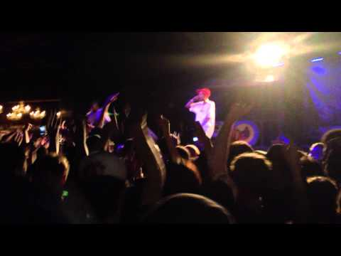 Earl Sweatshirt Performs Burgundy In Sacramento 5/17/13