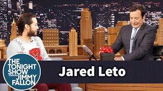 Jared Leto Brings Jimmy a Gift from the Joker