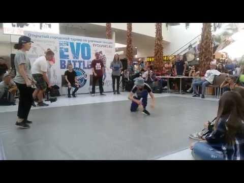 Хип-хоп батл школы танцев Evolvers В Красноярске!
