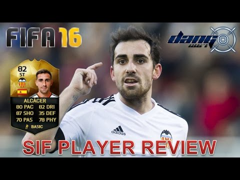 FIFA 16 SIF PACO ALCACER PLAYER REVIEW + STATS