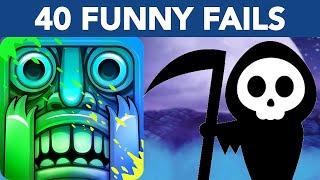 Temple Run 2 MOONLIGHT SUMMIT Fails   40 Funny Fails in Moonlight Summit