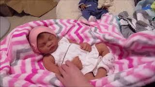 **AMAZING FULL BODY SILICONE BABY BOX OPENING!!!!** Sugar Britches Nursery