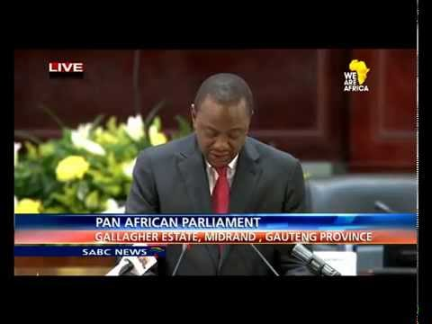 Uhuru Kenyatta's keynote  at the Pan African Parliament