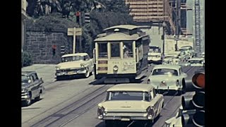 San Francisco 1962 archive footage