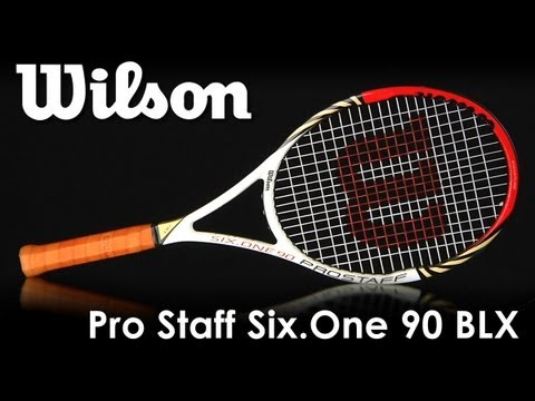 Wilson Pro Staff Six.One 90 BLX Racquet Review