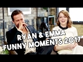 ryan gosling and emma stone la la land funny moments 2017