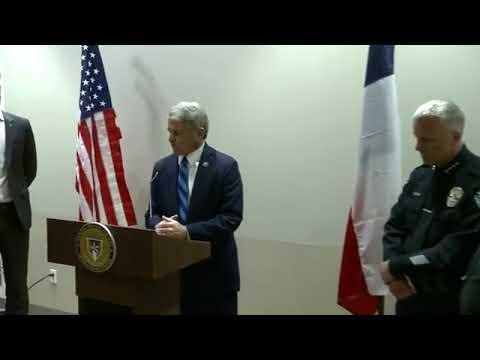 AUSTIN BOMBINGS INVESTIGATION: U.S. Rep. Michael McCaul Holding A Press Conference