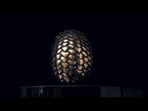 Making the Dragon s Egg from Game of Thrones