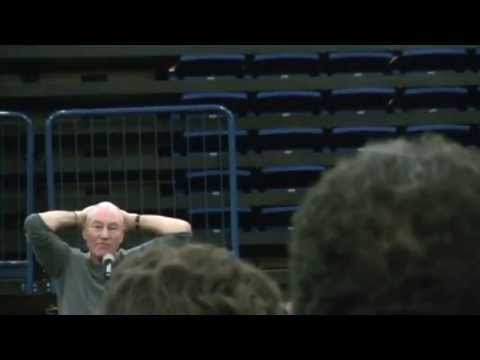 Patrick Stewart Gives Passionate Response To Question At Comicpalooza 2013 video