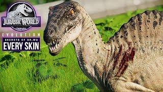 SPINORAPTOR | Every Skin, Kill Animation, Fight Animation (Jurassic World: Evolution New Dinosaur)
