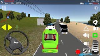 IDBS Simulator Bus Lintas Sumatera - Android Gameplay FHD