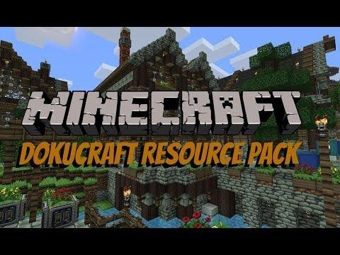 Minecraft Resource Pack Review - Dokucraft 1.7.4