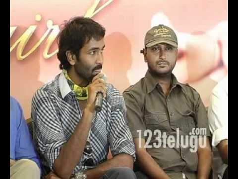 Lux Dream Girl Contest Press Meet -123telugu- Vishnu, Niketha video
