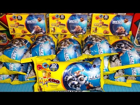 2016 Ice Age 5 Collision Course Movie VERY RARE Metal Caps Collection in Croissant & Biscuits