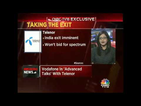 CNBC-TV18 Exclusive: Telenor Says 'No' To Spectrum Auction