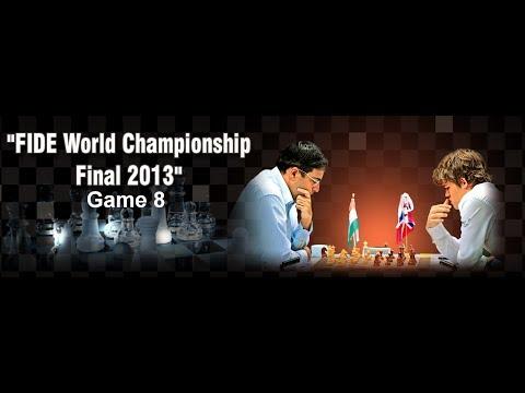 Game 8 - Viswanathan Anand vs Magnus Carlsen | FIDE World Championship 2013